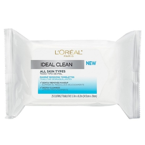 Review L'Oreal Ideal Clean Towelettes for All Skin Types