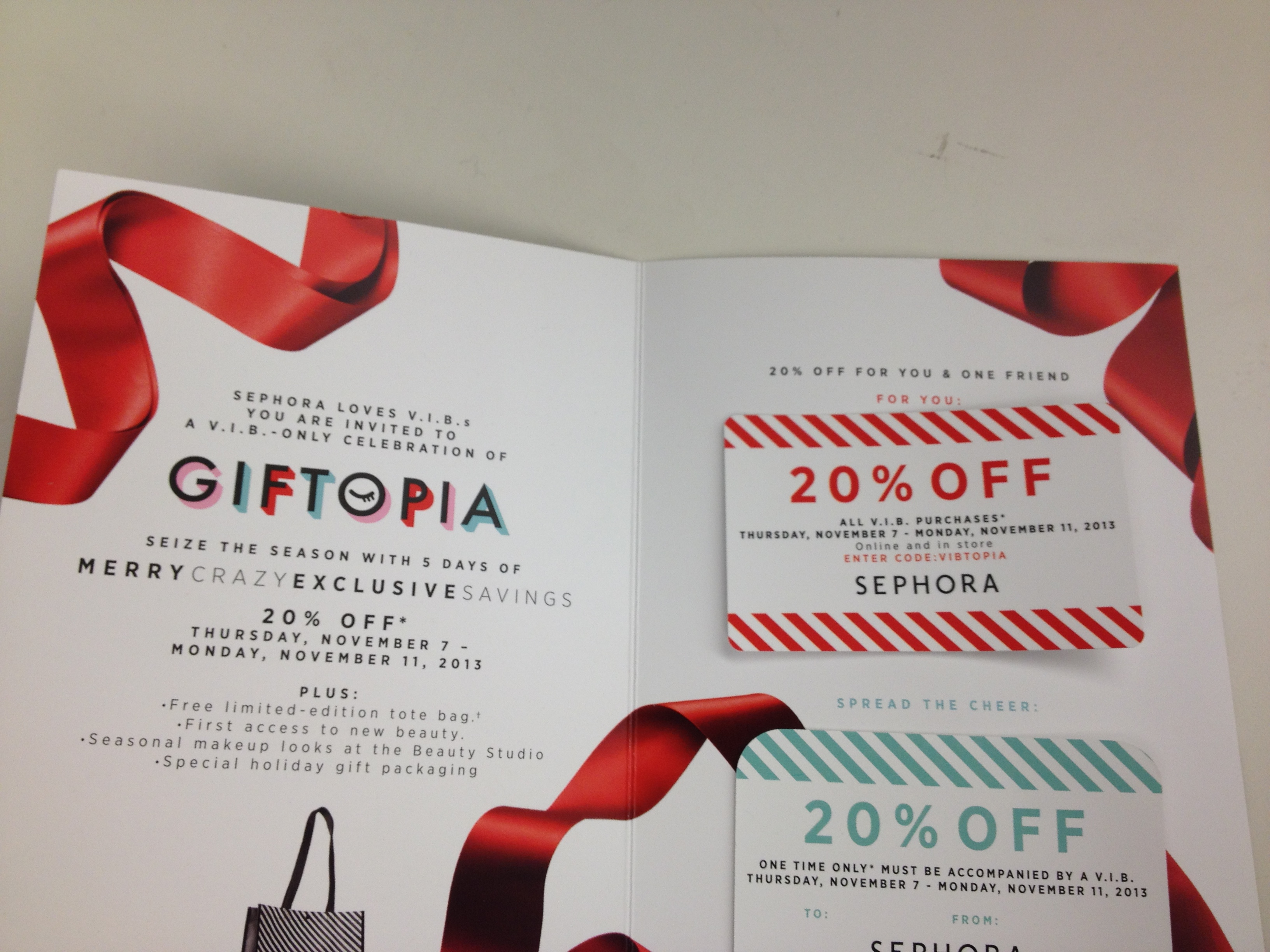 Sephora vib coupon code