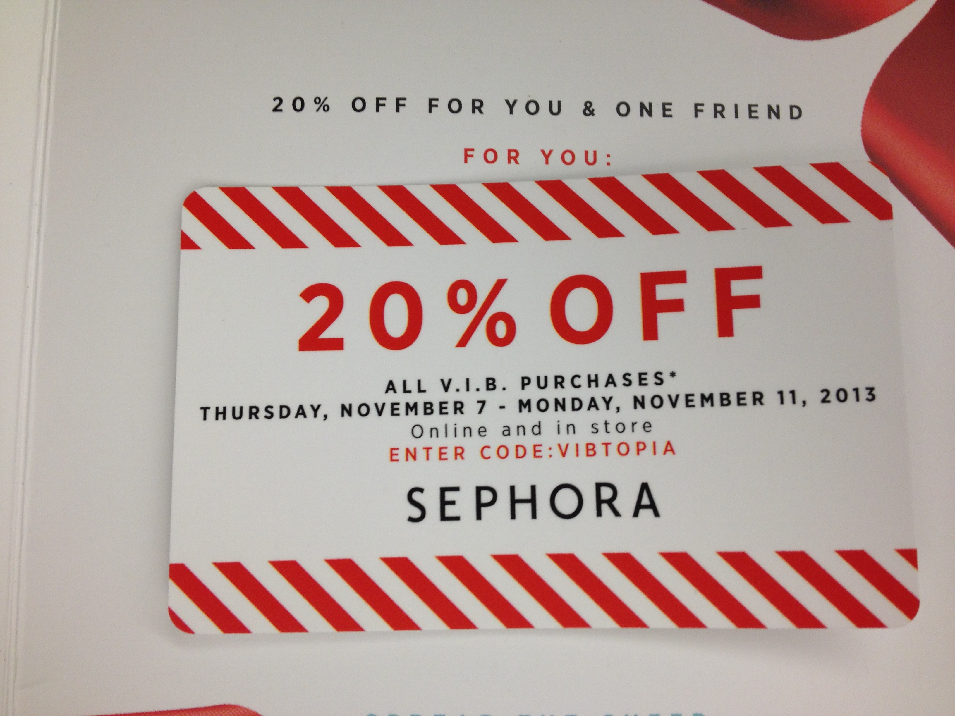 Sephora coupon code february 2018